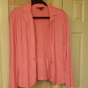 Armani Exchange Pink Blazer